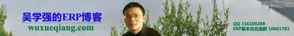 吴学强的ERP博客
